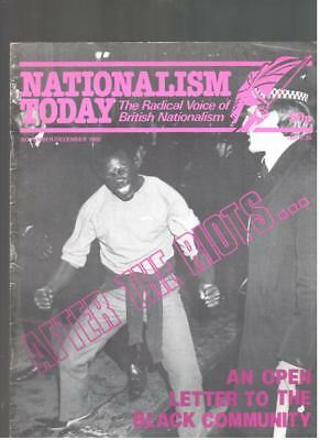 NF BNP - 1980s NATIONALISM TODAY # 35  - John Tyndall - Not Mosley BUF UM