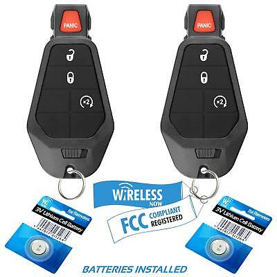 2 Car Key Fob Keyless Entry Remote 3B For 2008 Dodge Magnum