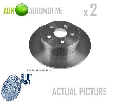 2 x BLUE PRINT REAR BRAKE DISCS SET BRAKING DISCS PAIR OE REPLACEMENT ADT343162
