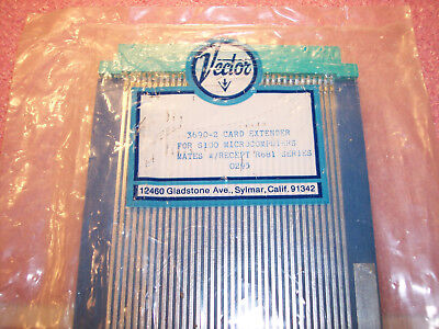 Qty (1) 3690-2 Vector 36 Position Edge Card Extender For S100 Microcomputers Nos