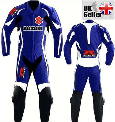 One PIECE SUZUKI GSXR MOTOGP Motorbike Leather Racing Suit mono de suzuki treja