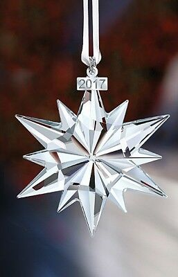 Same Day Ship - 2017 Annual Christmas Ornament Swarovski Crystal  5257589 2017-X