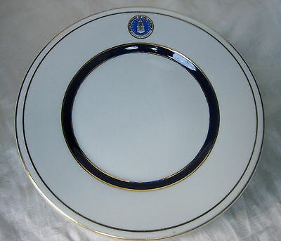 """Department of the Air Force Vintage US Military 7-3/4"""" Salad Plate by Shenango"""