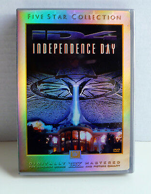 Independence Day (DVD, 2000, 2-Disc Set, Five Star Collection) ID4 Movie