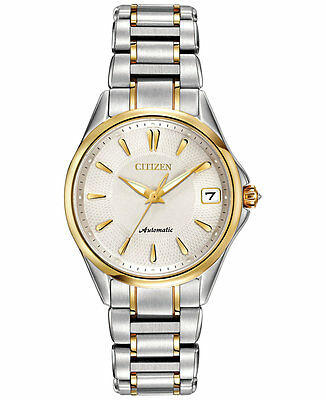 Citizen Women's Grand Classic Eco-Drive Diamond Accent Two-Tone Watch