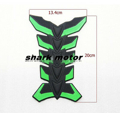 Motorcycle ATV Vehicles 3D Rubber Tank Pad Protector Gas Oil Fuel Decal Sticker