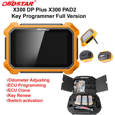 From UK OBDSTAR X300 DP Plus X300 PAD2 Tablet Full Version IMMO/ECU Programing