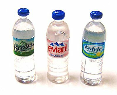 Tumdee Miniatures Selection of 3 Round Dolls House Water Bottles