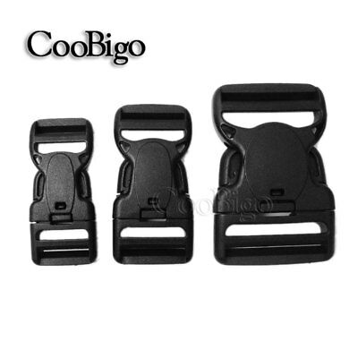 """1""""~2"""" Release Buckle Dual Adjustable & Security Double Lock Backpack Belts Strap"""
