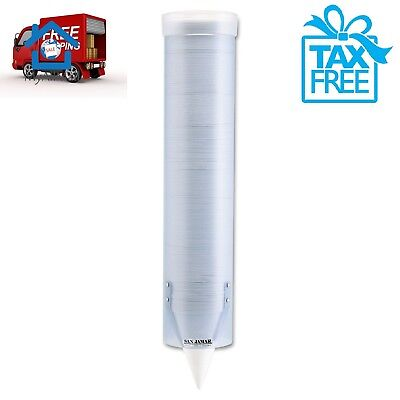Adjustable Frosted Surface Wall Mount Cup Dispenser Plastic Foam 4oz 10oz Cups