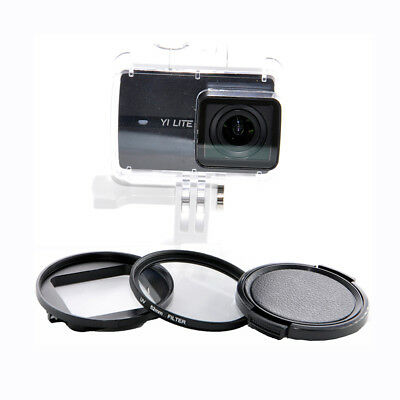 37/52mm CPL UV Close Up 10X Lens Filter Kit For Xiaoyi Yi Lite 4K Action Camera