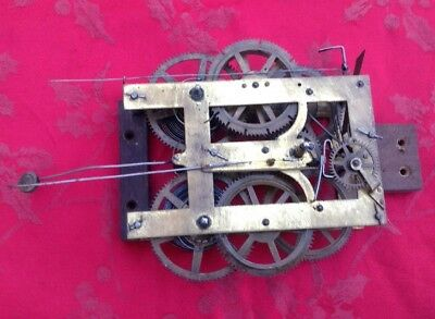 Jerome Clock Movement From A Steeple Clock