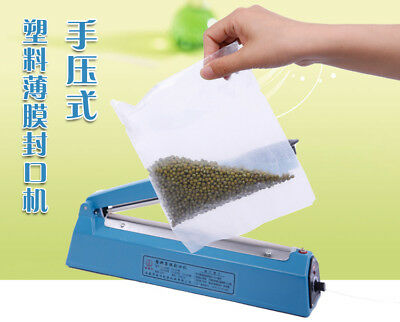 Poly Tubing Plastic Bag Film Wrap Heat Sealer Impulse Sealing Machine