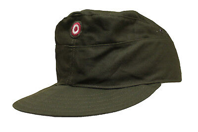 Genuine Austrian Army Issue Olive Drab Field Cap New Unused Surplus