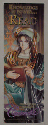 CANTARELLA New RARE READ Promo Bookmark Bookmarker,You Higuri,Cesare Borgia,2007