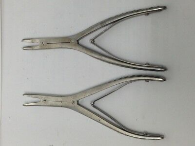 2  Surgical Pliers Dental  Codman Lawton
