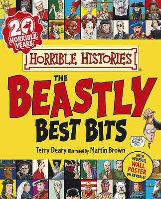 """""""VERY GOOD"""" The Beastly Best Bits (Horrible Histories), Deary, Terry, Book"""