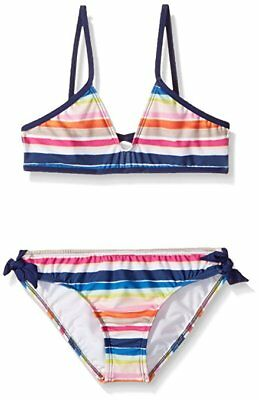f06e0231d6c O'NEILL BIG GIRLS' Evie Reversible Bralette Swimsuit SET SZ: 14 ...