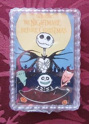 Disney NIGHTMARE BEFORE CHRISTMAS Playing Cards Sealed Mint