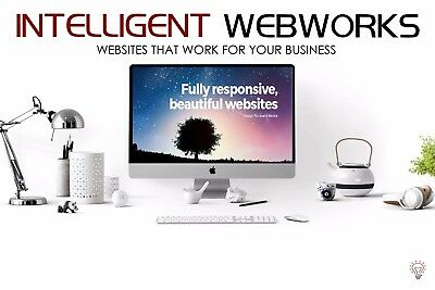 Bespoke Service Business Website + 12 Months of Free Hosting & Free Domain Name