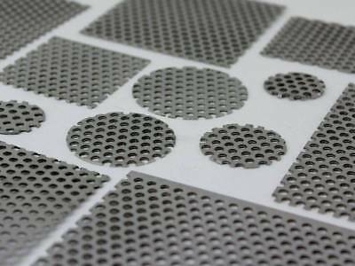 Steel Perforated Sheet 2mm Thick 3 mm Holes 5 mm Pitch Vent Filter - All Sizes