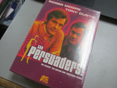 THE PERSUADERS! 70s TV Classic Series 4-Disc Tony Curtis Roger Moore DVD SET NEW