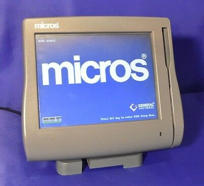 MICROS WS4-LX, 400714-001 W/Stand & Warranty RECONDITIONED, 3700, RES, E7 WS-4LX