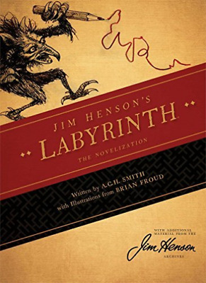 Smith A. C. H./ Henson Jim ...-Jim Henson`S Labyrinth  (US IMPORT)  HBOOK NEW