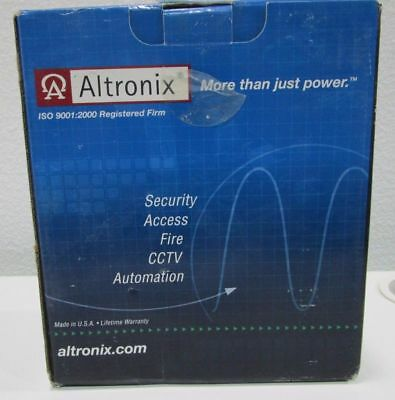 Altronix ISO 9001:2000 Registered Firm Power Supply LE178 New Opened Box