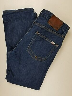 102c02508f VANS OFF THE Wall Mens Boys Size 30 x 25.5 Blue Jeans -  10.75 ...