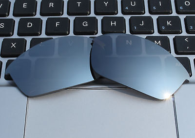 2.0mm Thickness Polarized Replacement Lenses Titanium for-Oakley Flak Jacket