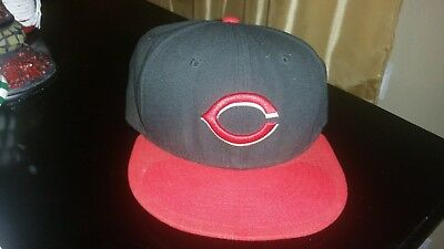 CLEVELAND INDIANS Road New Era 5950 On Field Cap MLB Baseball Fitted Hat 5cd8603a4