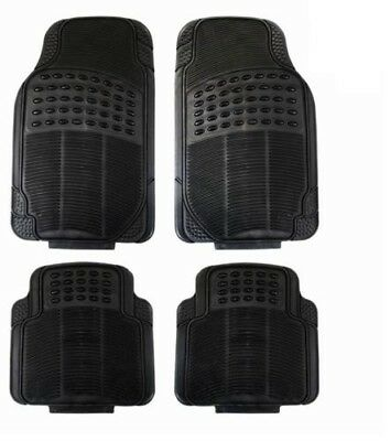 Mini Cooper S 14-On Heavy Duty Universal Rubber Car Floor Mats 4Pc