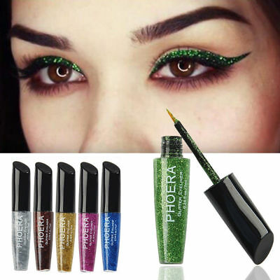 Giltter Womens Sequins Liquid Eyeshadow Lip EyeLiner Eye Shadow Pencil Makeup