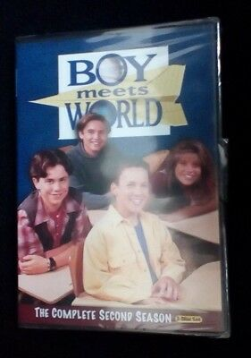 Boy Meets World Complete Second Season Dvd