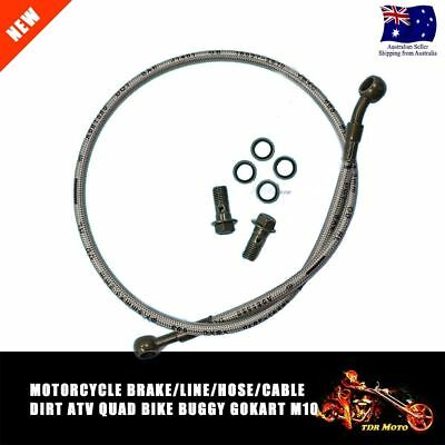 Motorbike Motorcycle Brake Line Cable Hose Dirt ATV Quad Bike Buggy gocart 1M