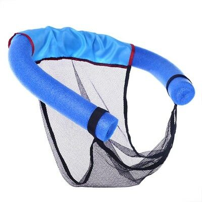 Floating Pool Noodle Sling Mesh Chair Net for Swimming Seat Water Relaxation*