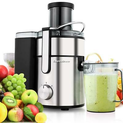 2.5L Commercial Cutters Juice Extractor Juicer Stainless Steel Fruits Vegetable