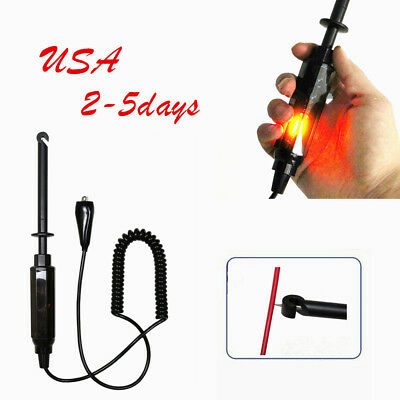 Pro Car Truck Voltage Circuit Tester 12V DC Hook Probe Test Light Pencil USA FDA