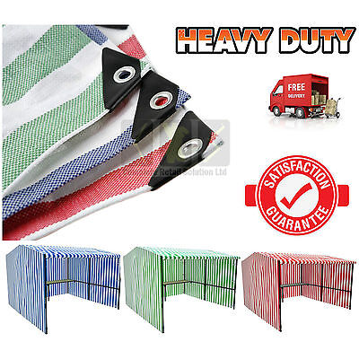 Heavy Duty Striped Market Stall Cover Tarpaulin. Waterproof - Canopy, Awning.