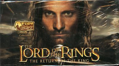 Lord of the Rings Return of the King Action Flipz Card Box uk sale new sealed