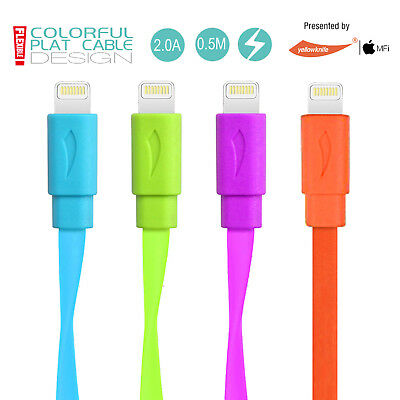 Apple MFI Certified 2A Lightning Cable/Charger Cord iPhone/iPad/iPod (3ft/1.5ft)