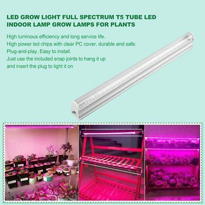 5X LED Grow Light Full Spectrum T5/T8 Tube LED Indoor Grow Lamps For Plants HRE