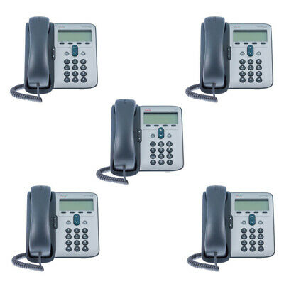 Joblot of 5 Cisco 7911G IP VoIP Telephone I 12 Months Warranty I Free Delivery