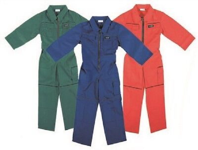 W.K.TEX. Workwear Kinder Arbeitskleidung Overall Bully 85348 Farbe Rot