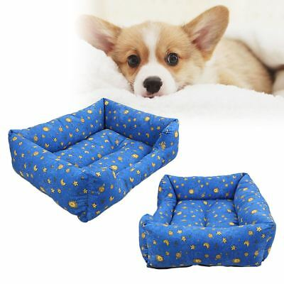 Warm Basket Dog Cat Pet Bed Cushion Rectangle Pet Bed All Weather Pet Bed