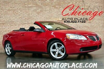 2007 Pontiac G6 GT Convertible 2-Door Pontiac G6 GT - HARDTOP/CONVERTIBLE 1 OWNER 3.9L V6 LEATHER HEATED SEATS