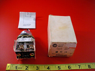 Allen Bradley 800T-H2A2 Ser T Selector Switch 2 Position Maintained 800TH2A2 New