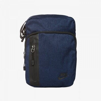 dcb2c1bab6c23 New Nike Core 3.0 Small Items Denim Blue Black Shoulder Man Bag Mens BA5268  451