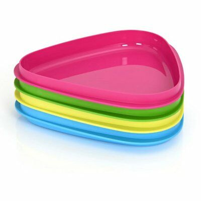 Light My Fire Sweden - Stack Plates 4 Pack - Ideal for Camping Picnics Hiking